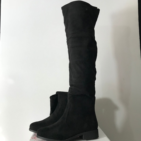 7a7435f71fe Journee Collection Mount Over the Knee Boot